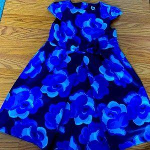 Girls blue flower Janie and Jack dress